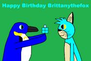 Happy Birthday Brittanythefox