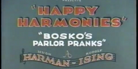 Bosko's Parlor Pranks