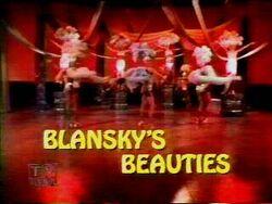 Blansky's Beauties title screen