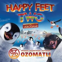 Happy Feet Two The Videogame Original Soundtrack Cover
