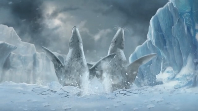 File:Happy Feet Two Video Game - Leopard Seals falling.PNG
