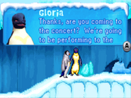 Adult Gloria in Happy Feet GBA Game