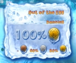 Out of the Egg level