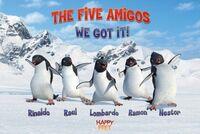 Lgpp30790+rinaldo-raul-nestor-lombardo-and-ramon-the-five-amigos-happy-feet-poster