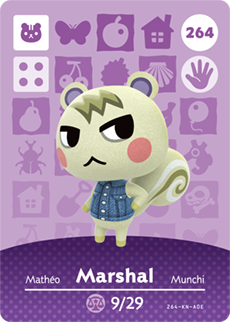 Marshal Card