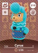 Cyrus Card