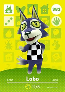 Lobo Card