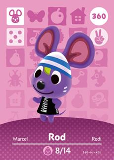 Rod Card