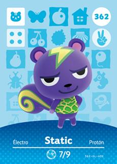 Static Card