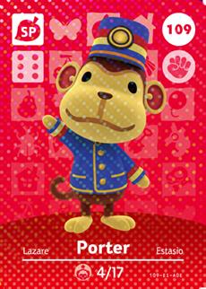 Porter Card