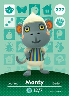 Monty Card
