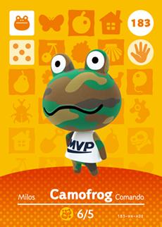 Camofrog Card