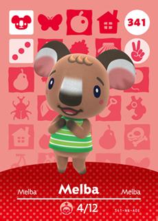 Melba Card