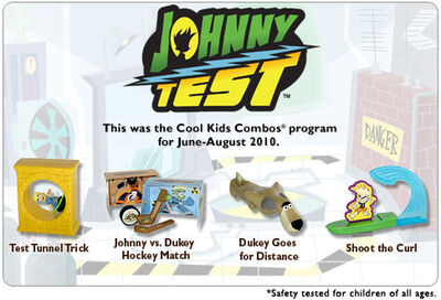 Hardees 2010 Johnny Test