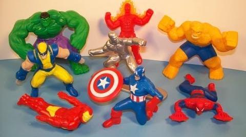 Marvel Heroes (McDonald's, 2010)