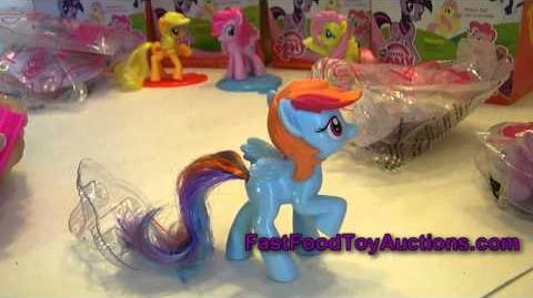 McDonalds 2011 Happy Meal My Little Pony