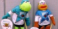 Muppets NHL plush (McDonald's Canada, 1995)