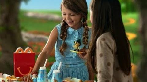 The Wizard Of Oz McDonald's Happy Meal Commercial