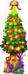 Xmas Decoration Christmas Tree Level 4