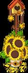 Decoration Sunflower Birdhouse