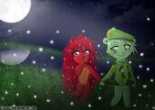 Flippy x flaky anime chibi by luz de luna-d54xrak