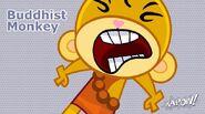 Buddhist Monkey Character
