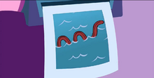 HTF Moments - Mole mistake Sniffles tongue with lochness monster (TV S01 E11.2) 4