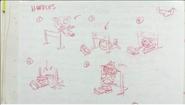 Mime smoochie sketch