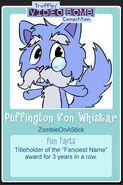 Puffington Von Whiskar