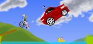 Car thief scene