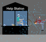 Help station
