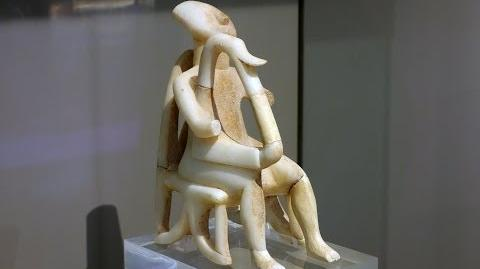Harp Player, Early Cycladic period