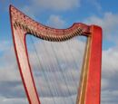 28 String Harp by Ferenc Papfalvy