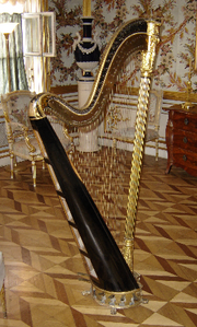 Pedal-harp