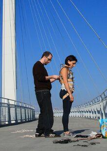 Bridge-antics