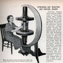 Med round harp