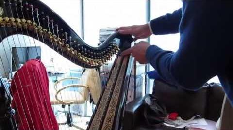 Comparison of three harps (upper registers)