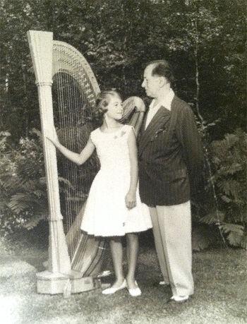 Heidi Lehwalder with Carlos Salzedo