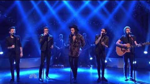 One Direction - Night Changes SNL December 2014