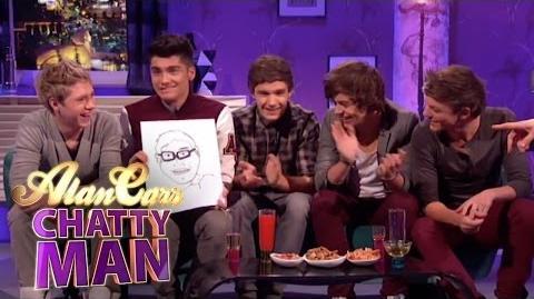 One Direction Draw Alan - Alan Carr Chatty Man