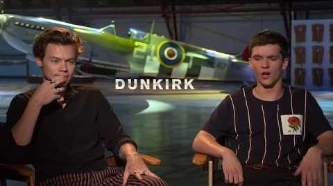 Dunkirk Harry Styles & Fionn Whitehead Interview