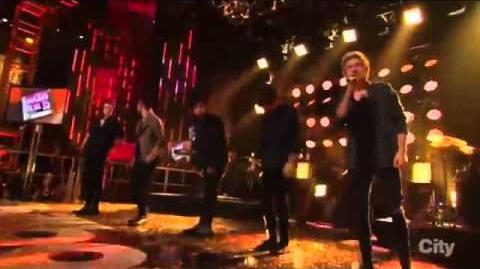 "One Direction - ""Steal My Girl ""New Year's Rockin' Eve 2015 with Ryan Seacrest"