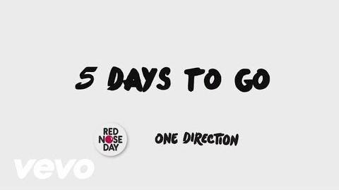 One Direction - One Way Or Another (Teenage Kicks) - 5 Days To Go