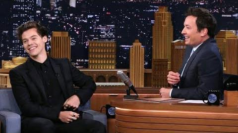Harry Styles on The Tonight Show Starring Jimmy Fallon 2017