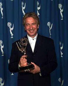Alan Rickman Recieving An Award