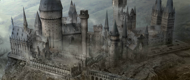File:Hogwarts after battle by Andrew Williamson.png
