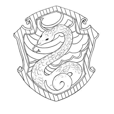 File:Slytherin Lineart.jpg