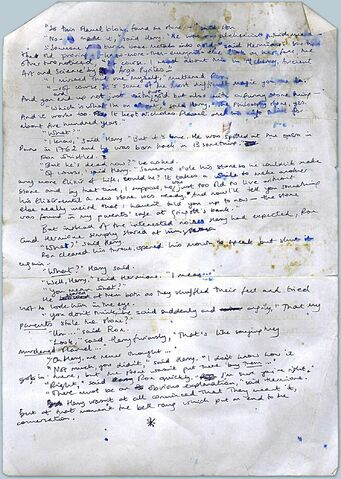 File:Very early page of Philosopher's Stone.jpg