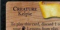 Kelpie (Trading Card)