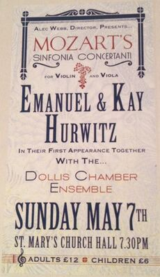 Emanuel&KayHurwitzConcertPoster